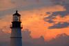 Portland Lighthouse at Sunset