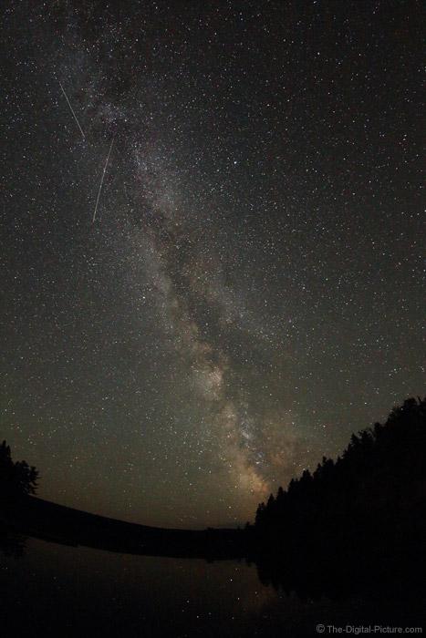Meteorites during Perseid Meteor Shower