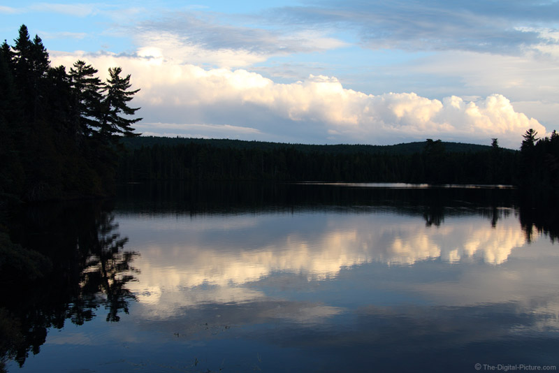 Storm Clouds over Island Pond, ME