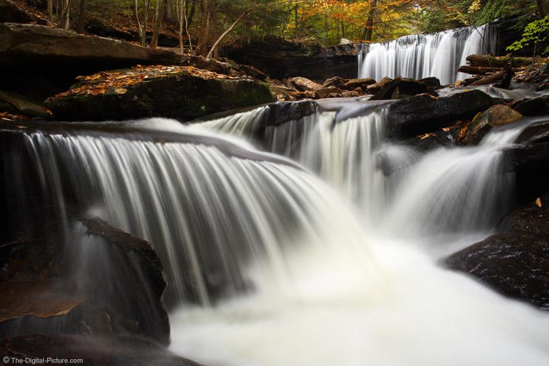 Oneida Falls Above Smaller Falls