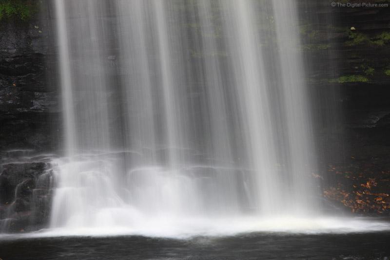 Base of Harrison Wright Falls