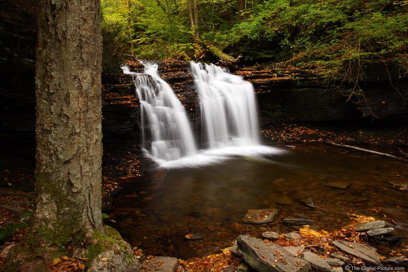 Wyandot Falls, Ricketts Glen SP