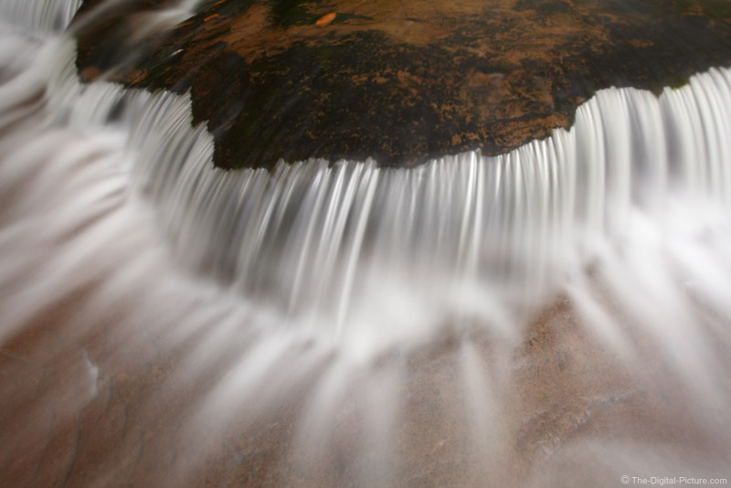 Waterfall Close-Up Picture