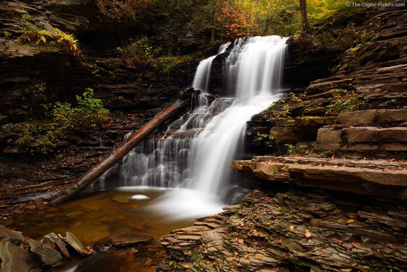 Shawnee Falls in the Fall