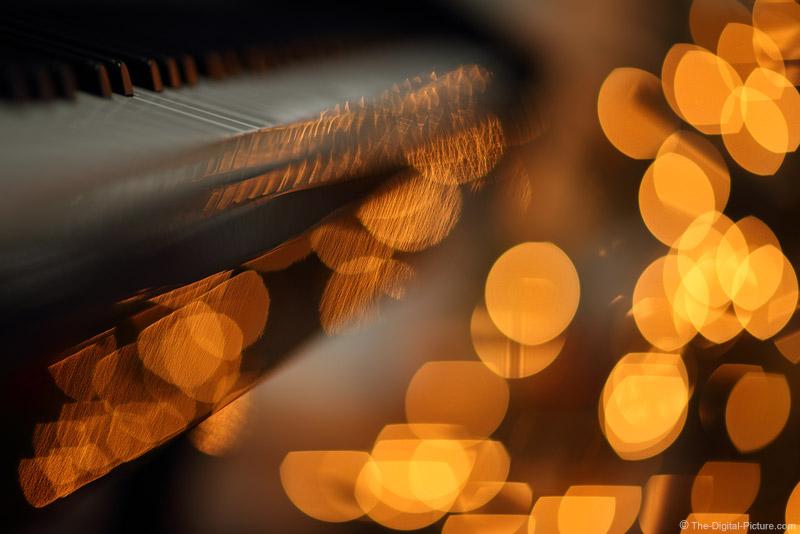 Piano Reflecting Lights