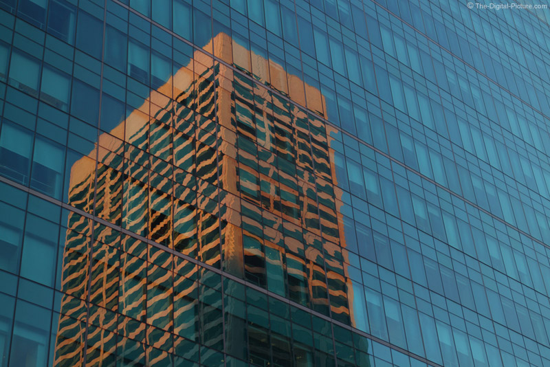 Building Reflecting on Building