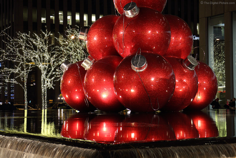 Large 6th Ave Christmas Balls at 50mm