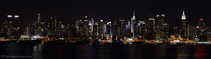 West Manhattan Skyline