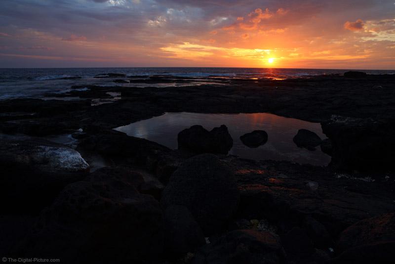Hookena Beach Sunset