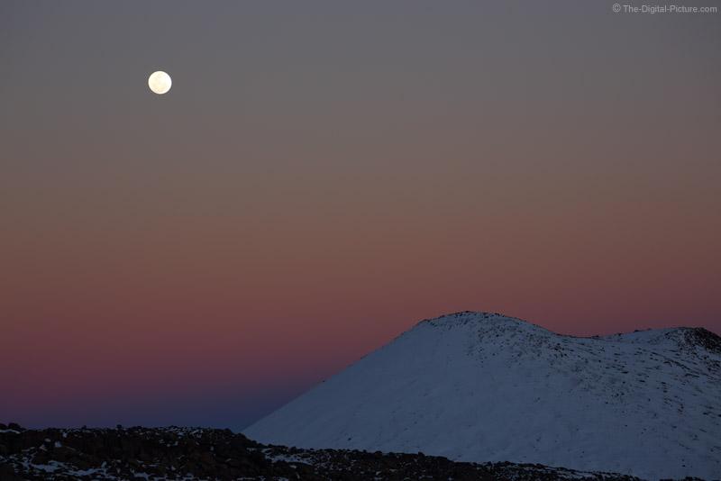 Full Moon Over Mauna Kea