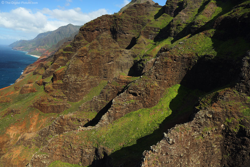 Over the Cliffs on Na Pali Coast
