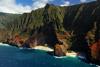 Na Pali Coast Aerial Picture