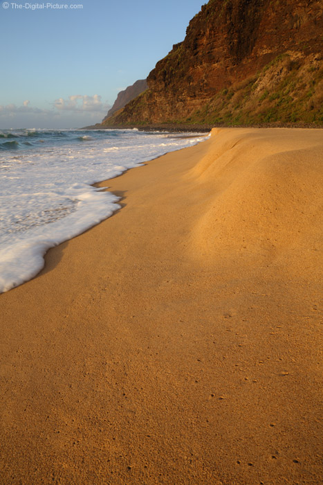 Beach at Polihale State Park