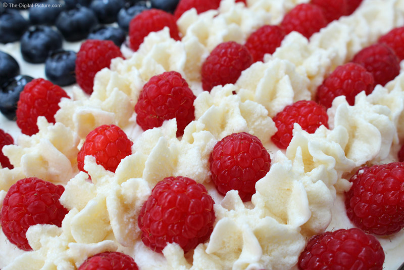 Red Raspberry and Icing