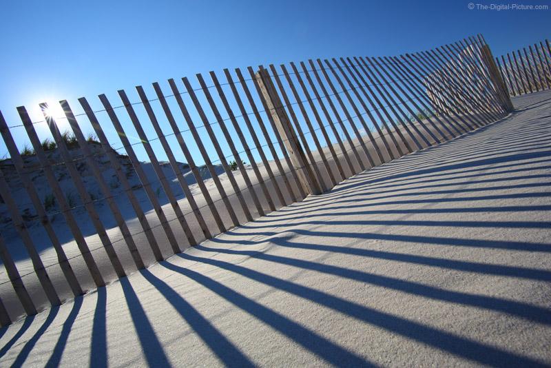 Sand Fence at Island Beach State Park, NJ