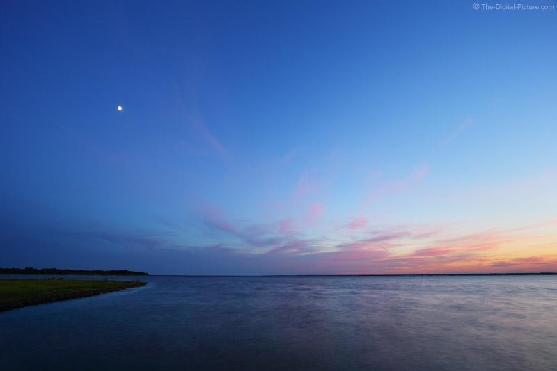 Moon Over Barnegat Bay