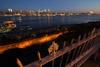 Manhattan Skyline and Hamilton Park