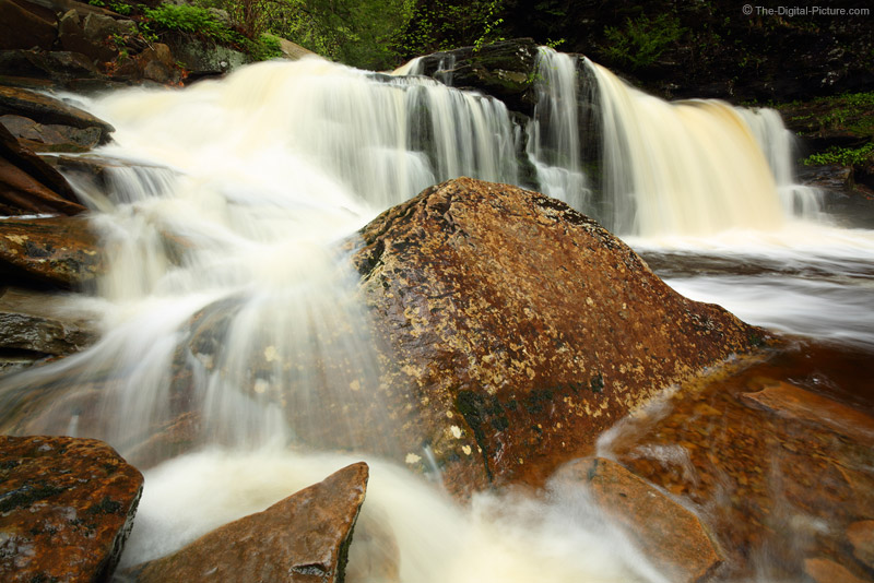 The Zeiss 15mm f/2.8 ZE Lens and Cayuga Falls Sans Log