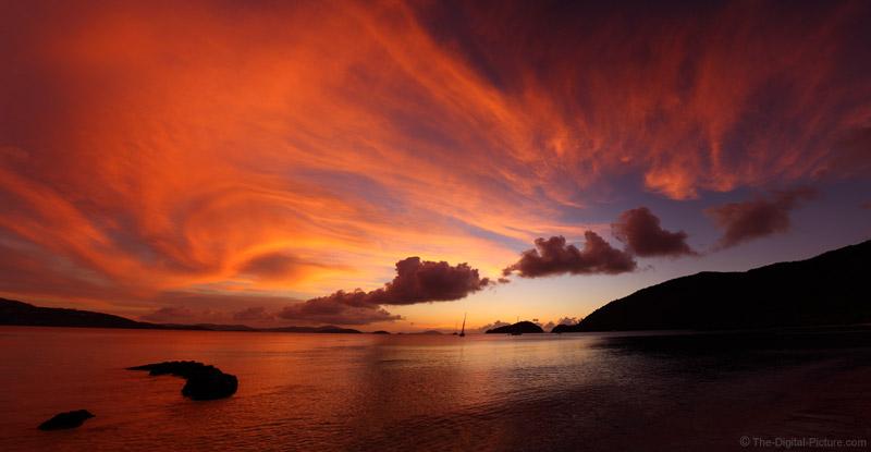 100 Megapixel Francis Bay, St John, USVI Sunset
