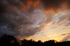 Drama in the Sky, a Wide Angle Sunset
