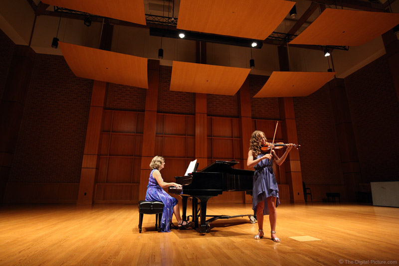Renting the Hall: Violin Recital