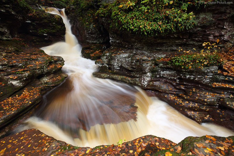 Canon 16-35mm L IS Lens Captures Adams Falls, Ricketts Glen State Park