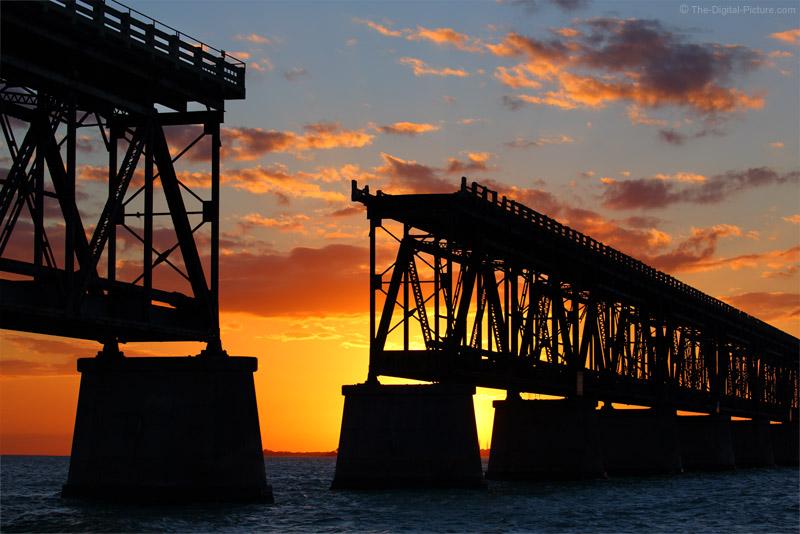 Bahia Honda Railroad Bridge at Sunset