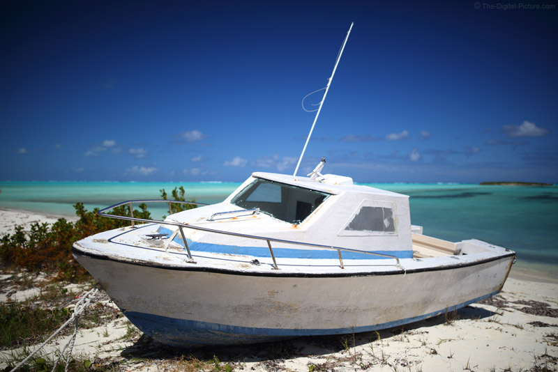 Boat in the Sand, Bambarra Beach, Middle Caicos