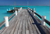 Looking Down at the Dock, Horsestable Beach, North Caicos