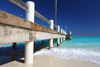 Dock at Horsestable Beach, North Caicos