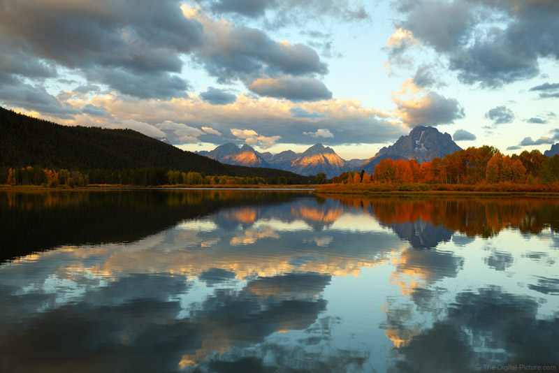Canon EOS 5D Mark IV Visits Oxbow Bend, Grand Teton National Park