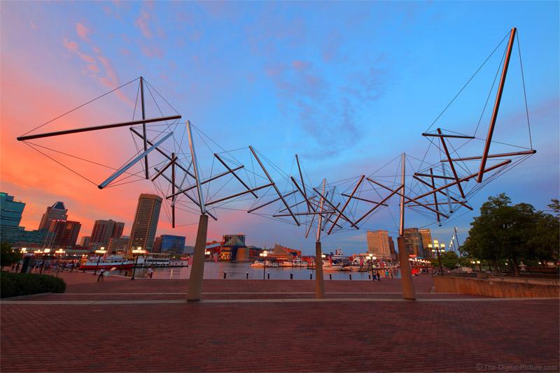 Sigma 14mm f/1.8 Art Lens Visits Inner Harbor, Baltimore, MD
