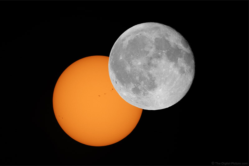 Going Hyper-HDR with the Partial Solar Eclipse