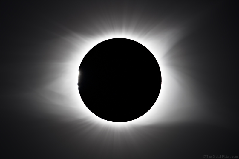 How to Process Solar Eclipse Exposure Bracketed Images – A Simple HDR Technique