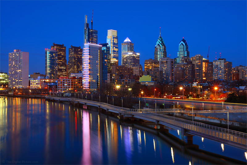 Canon TS-E 50mm f/2.8L Tilt-Shift Lens Visits Philadelphia for the Blue Hour