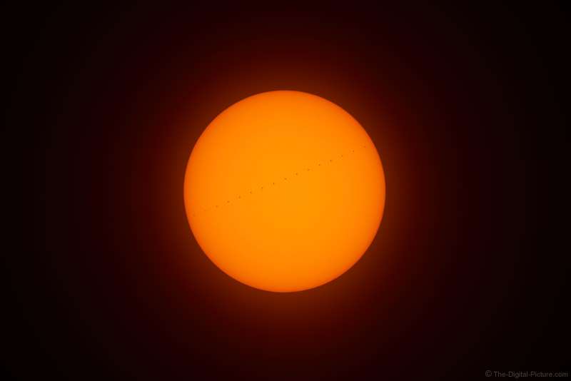 Mercury Transit of the Sun and a Question