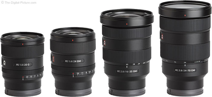 Recommended Sony Lenses