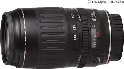 Canon EF 100-300mm f/4.5-5.6 USM Lens