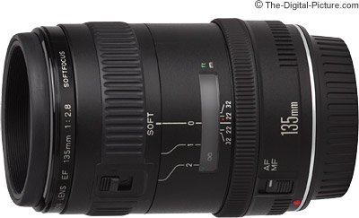 Canon EF 135mm f/2.8 With Softfocus Lens