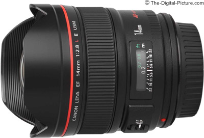 Canon EF 14mm f/2.8L II USM Lens Tested on the EOS 5Ds R and 7D Mark II