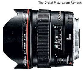 Canon EF 14mm f/2.8L USM Lens