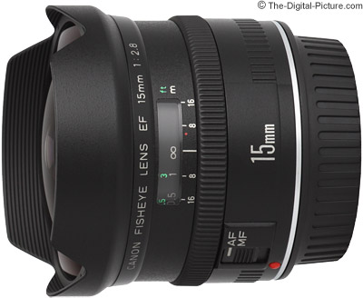 Canon EF 15mm f/2.8 Fisheye Lens