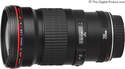 Canon EF 200mm f/2.8L II USM Lens Tested on the EOS 5Ds R