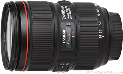 Refurbished Canon EF 24–105mm f/4L IS II USM Lens - $779.20 with Free Shipping (Compare at $1,099.00 New)