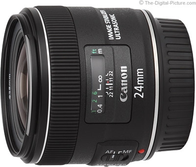 Canon EF 24mm f/2.8 IS USM Lens Tested on 5Ds R