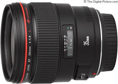 Canon EF 35mm f/1.4L USM Lens