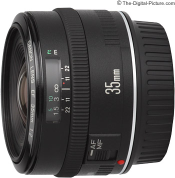 Canon EF 35mm f/2 Lens