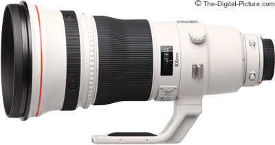 Canon EF 400mm f/2.8L IS II USM Lens Tested on 5Ds R