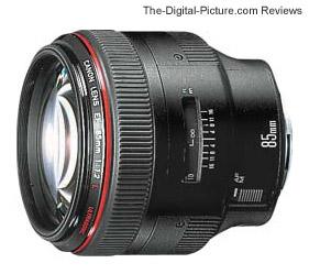 Canon EF 85mm f/1.2L USM Lens