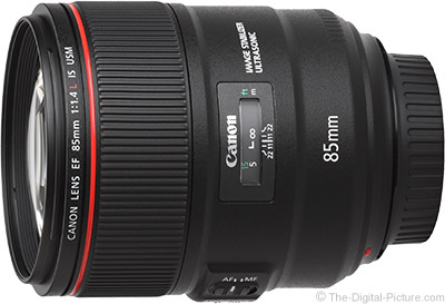 Used Canon EF 85mm f/1.4L IS USM Lens (EX ) - $1,459.00 (Compare at $1,599.00 New)